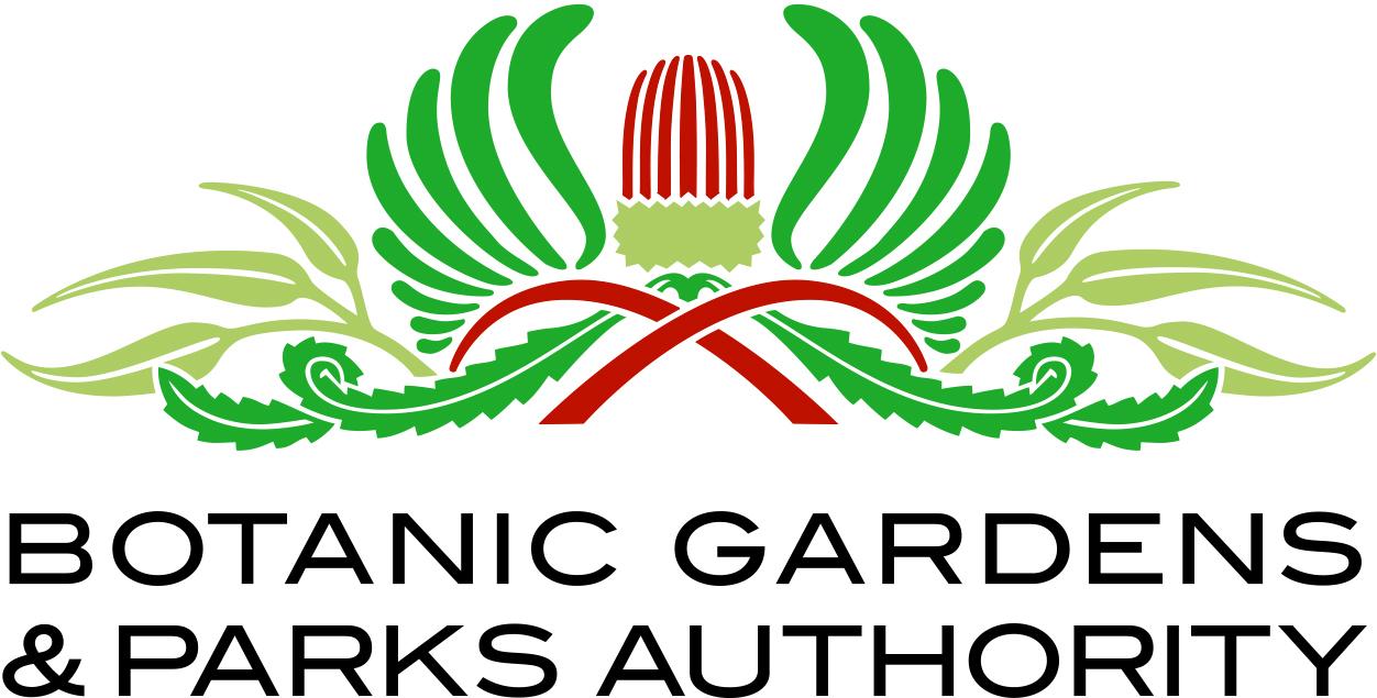 Botanic Gardens & Parks Authority logo.