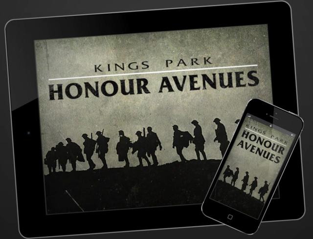 Kings Park Avenues App splash