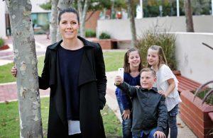 A photo of researcher Kate Derry and children Zahli, Xavier and Amaya Evitt. Retrieved July 31, 2015,